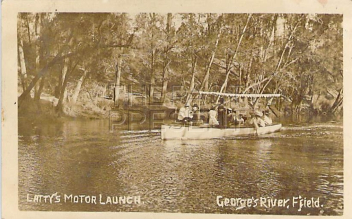 Latty's Motor Launch on the Georges River