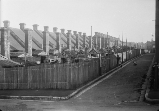 Rows of chimneys etc in Glebe
