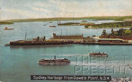 Sydney Harbour From Dawes Point