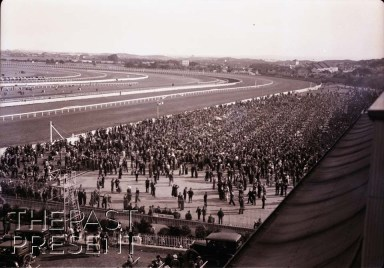 Randwick Races - Betting in Front Of Grandstand