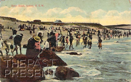 Bondi Beach From a postcard, circa 1905