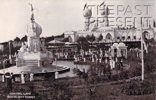 The Central Lake At White City Amusement Park