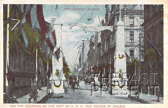 Pitt Street Prince Of Wales Celebration Front copy
