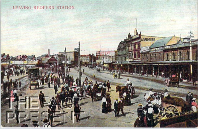 Leaving Redfern Station Front copy