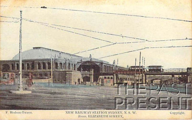 New Railway Station Sydney NSW From Elizabeth Street (Central) Front copy