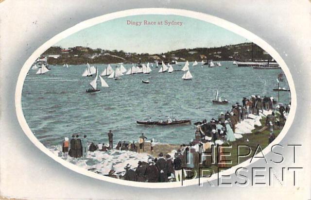 Dingy Race at Sydney Front copy
