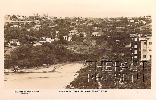 Hungary Bay From Cremorne, Sydney NSW  Front copy
