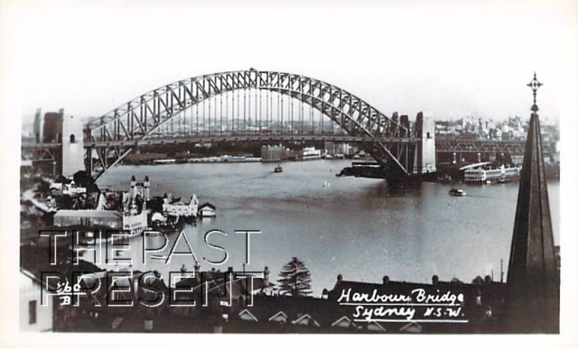Harbour Bridge Sydney NSW (Luna Park)Front copy