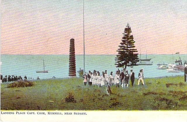 Landing Place Captain Cook Kurnell Botany BayNear Sydney Front