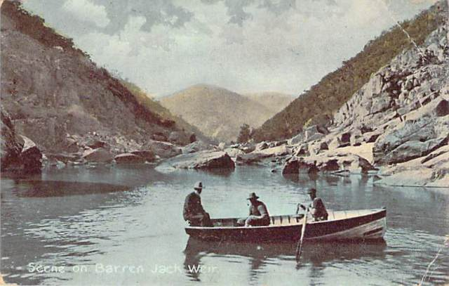 Scene on Barren Jack Weir Front
