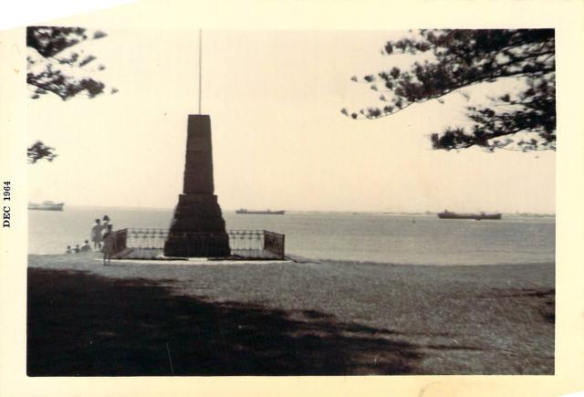 Captain Cook Memorial 1964 copy