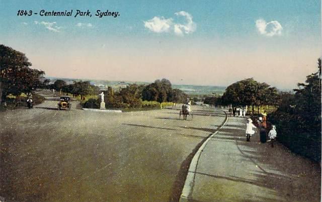 Centennial Park Colour Front
