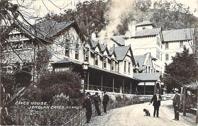 Caves House Jenolan Caves Front
