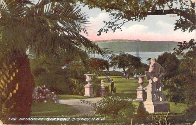 Botanical Gardens Sydney 2 Front