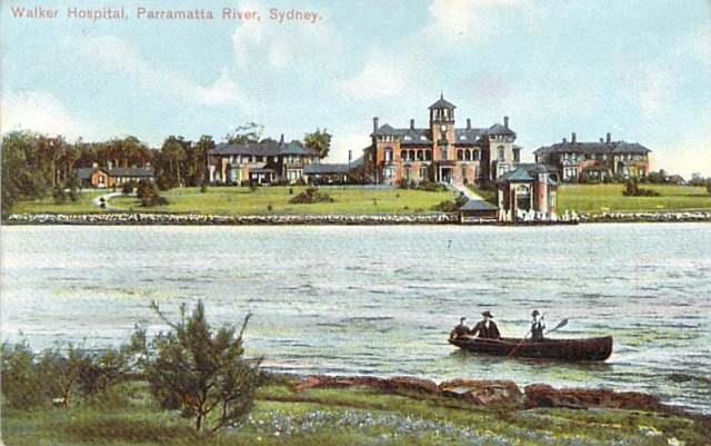 Walker Hospital Parramatta River Sydney Front