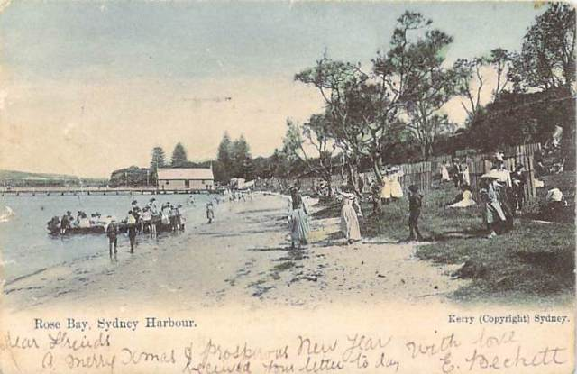 Rose Bay Sydney Harbour Front