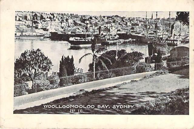 Woolloomooloo Bay Sydney 2 Front