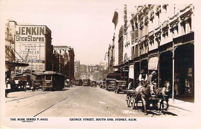 George Street South End Sydney NSW Front