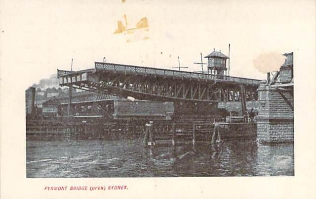 Pyrmont Bridge Open Sydney Front