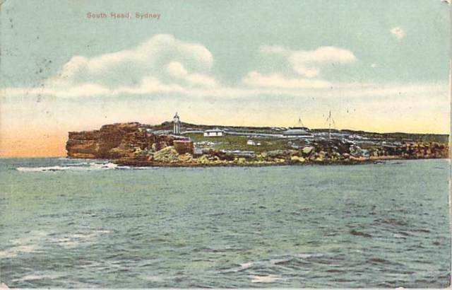 South Head Sydney with lighthouse front