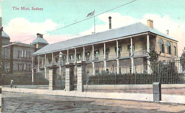The Mint Sydney Front