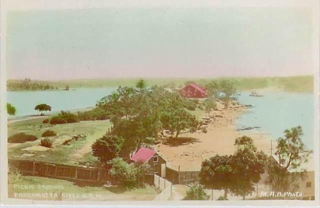 Picnic Grounds Paramatta River Front