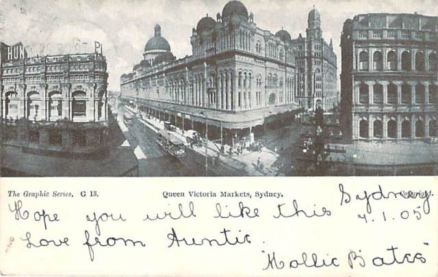 Queen Victoria Market (QVB) Sydney Front