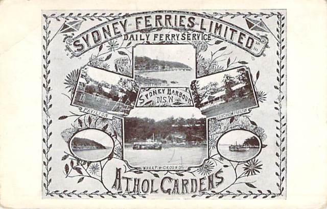 Sydney Ferries Limited Athol Gardens Front