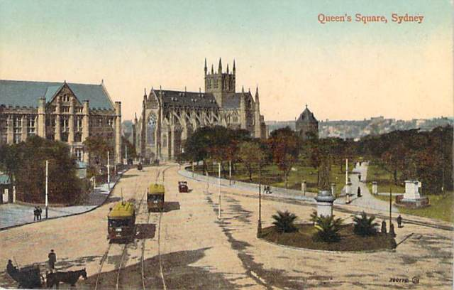 Queens Square Front