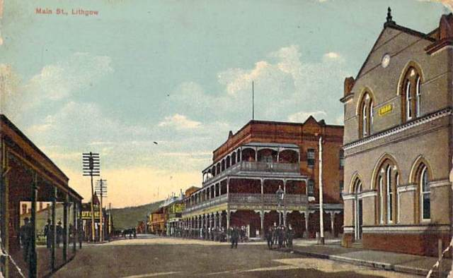 Main Street Lithgow Front
