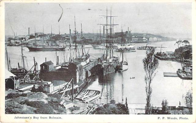 Johnstone's Bay From Balmain Front