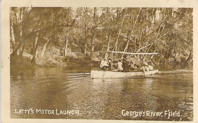 Latty's Motor Launch George's River Front