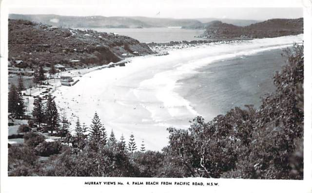 Palm Beach From Pacific Road NSW Front