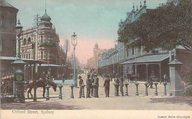 Oxford Street Sydney Front