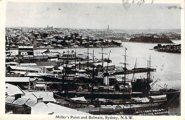 Millers Point and Balmain Sydney NSW Front