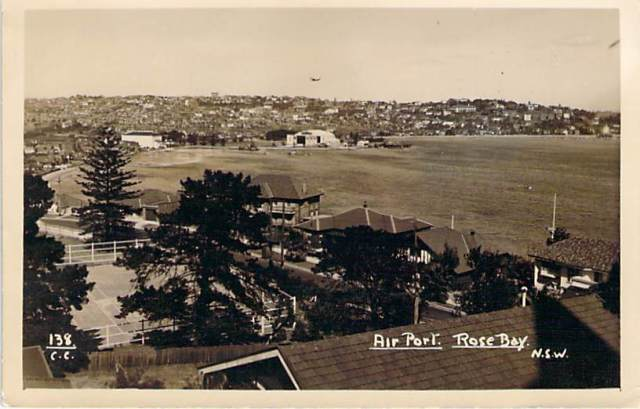 Air Port Rose Bay Front
